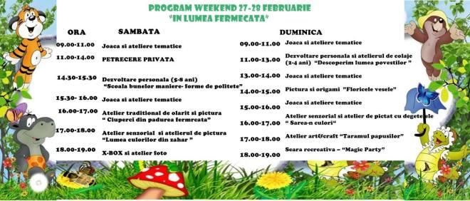 weekend 27-28 feb