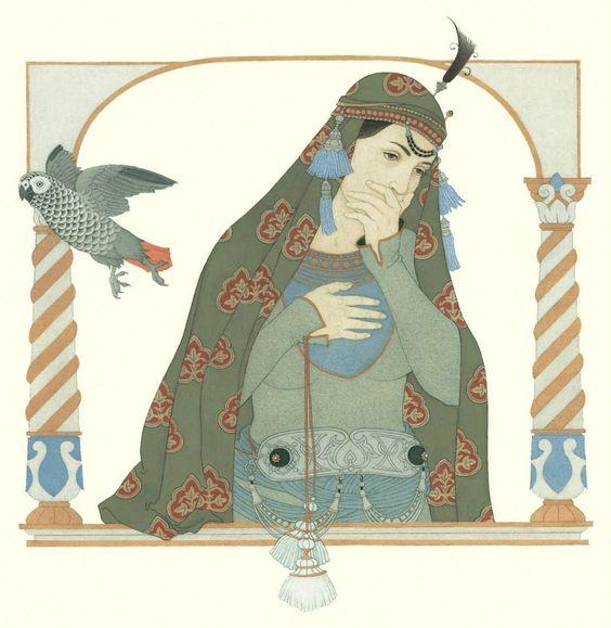 Olga Dugina, art, femeia