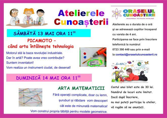 Ateliere 13 14 MAI