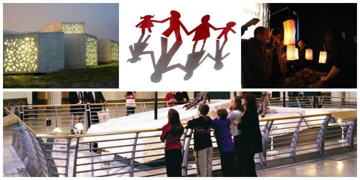 Copiii la Noaptea Muzeelor 2015 2 Collage