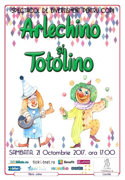 Clubul taranului Arlechino si Totolino