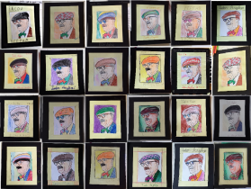 colaj portrete arghezi