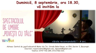 afis 8 septembrie 18.30
