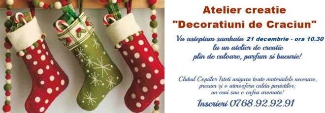 atelier de decoratiuni craciun2