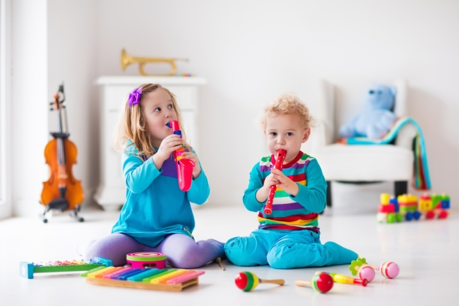 children-with-music-instruments-musical-education-for-kids-colorful-wooden-art-toys-little-girl